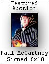 Paul McCartney Signed Photo